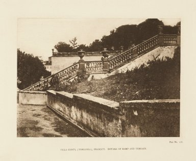 Staircase terrace